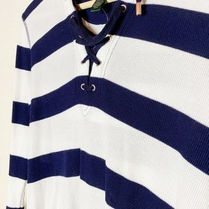 Lauren Ralph Lauren Tops - Lauren by Ralph Lauren Women's Navy/White Top - M